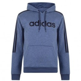 Adidas 3S Logo férfi kapucnis pulóver