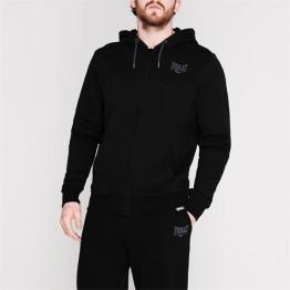 Everlast férfi kapucnis cipzáras pulóver